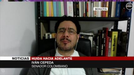 """Cepeda: Uribe """"busca destruir el Poder Judicial"""" en Colombia"""