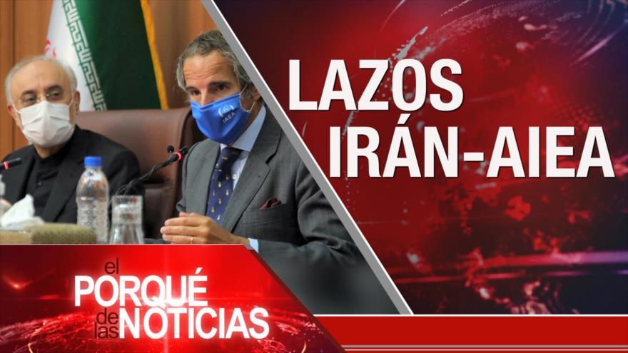 El Porqué de las Noticias: Cooperación Irán-AIEA. Tensión racial en EEUU. Caso Uribe