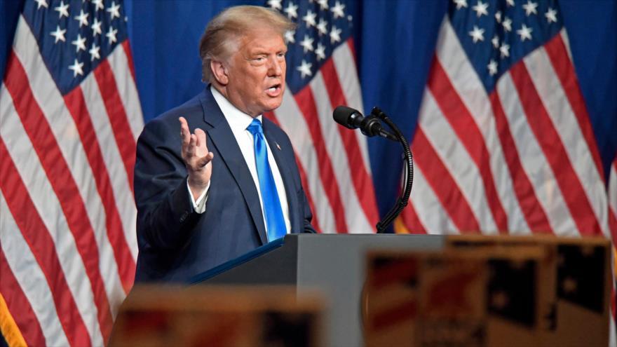 Trump cree que Biden toma drogas y pide prueba antes de debate | HISPANTV
