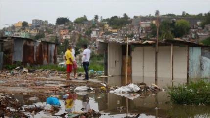 Tormenta tropical Laura golpea la República Dominicana