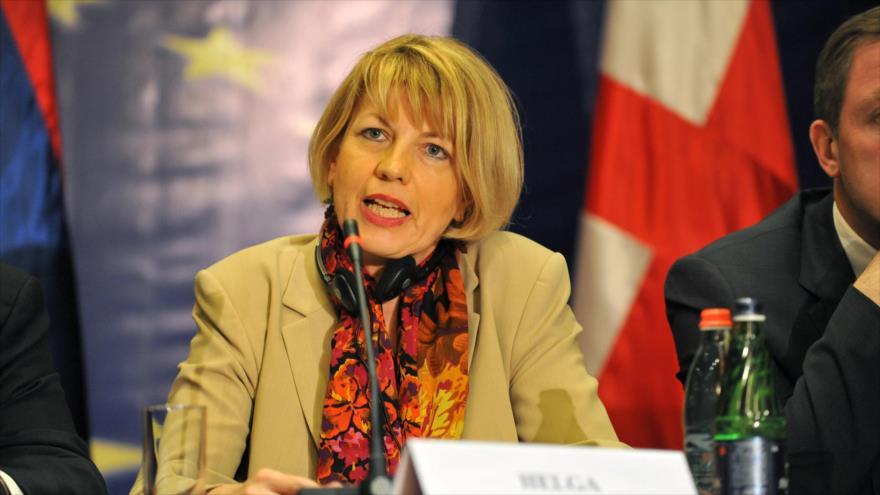 La subjefa de la Política Exterior de la Unión Europea, Helga Schmid.