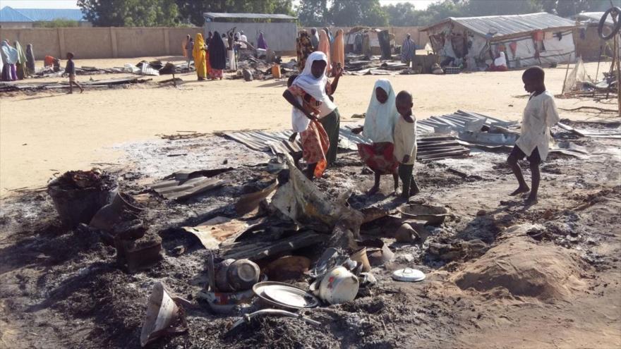 La escena de un ataque terrorista del grupo terrorista Boko Haram en la localidad de Dalori, (noreste de Nigeria), 20 de noviembre de 2018. (Foto: Reuters)