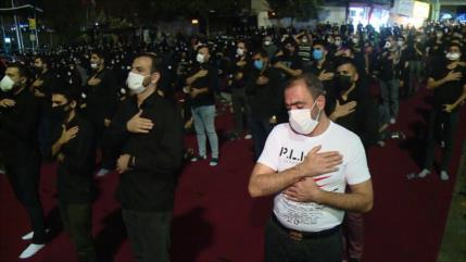 Musulmanes chiíes conmemoran Muharram bajo limitaciones por COVID-19