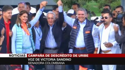 Senadora: Uribe atenta contra juridicidad de Colombia