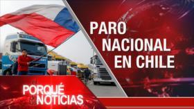 El Porqué de las Noticias: Reunión del Consejo de Seguridad sobre Siria. Intervención de EEUU en Colombia. Huelga en Chile