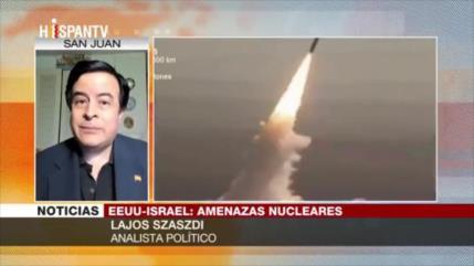 Szaszdi: EEUU practica competencia desleal en tema nuclear con Irán