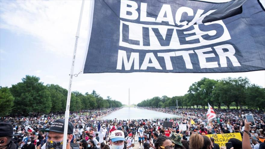 Vídeo: Manifestantes antirracistas toman las calles de Washington | HISPANTV