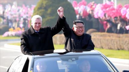 Líder de Corea del Norte reitera su apoyo a Cuba