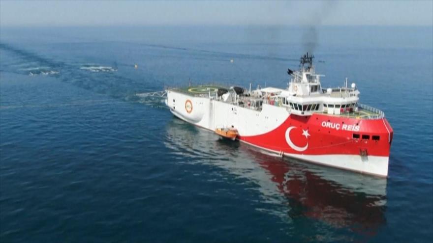Las tensiones en el mar Mediterráneo siguen a un ritmo creciente