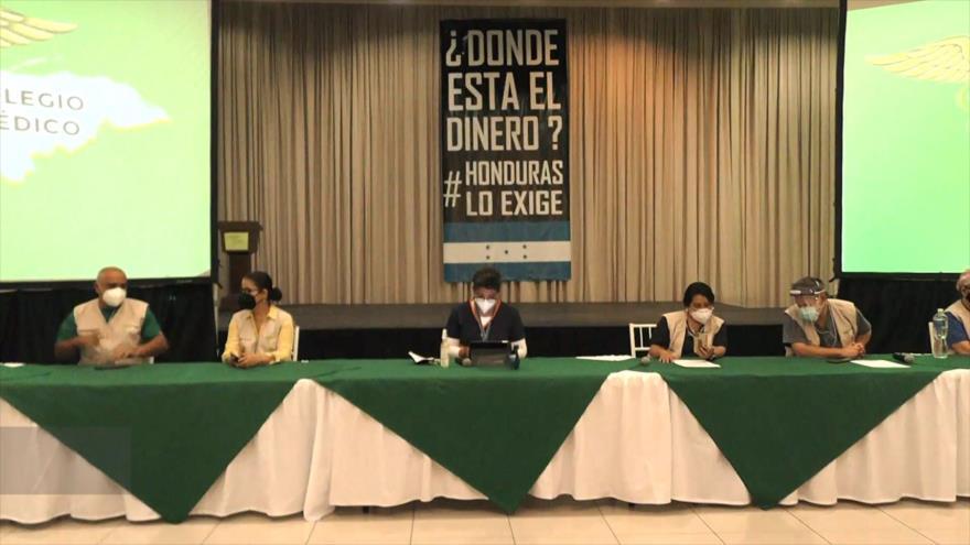 Colegio Médico de Honduras revela mal manejo de COVID-19 en el país
