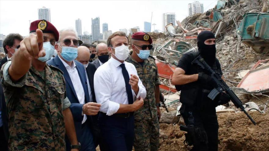 Explosión en Beirut, escenario de Francia para colonizar El Líbano | HISPANTV