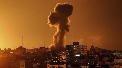 Israel vuelve a atacar varios puntos en la Franja de Gaza