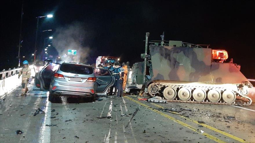 EEUU suspende maniobra militar en Corea del sur tras choque mortal   HISPANTV