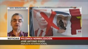 Egido: Emiratos sacrifican al pueblo palestino por sus intereses