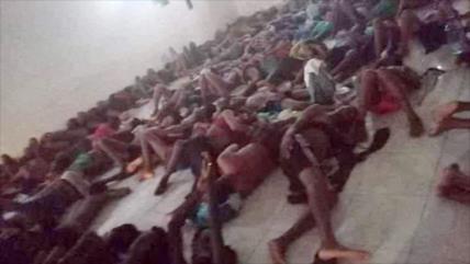 Fotos muestran sufrimiento de migrantes africanos en Arabia Saudí