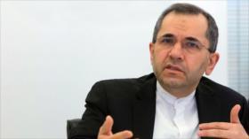 Irán: EEUU carece de autoridad para restablecer sanciones de CSNU