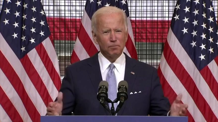 Biden: Trump perdió hace mucho tiempo cualquier liderazgo moral | HISPANTV