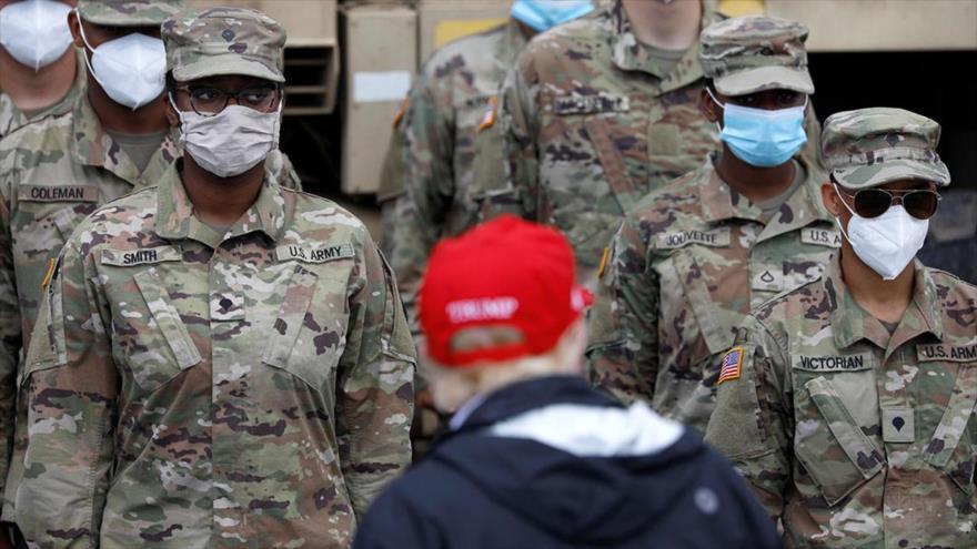 Trump pierde popularidad entre militares: Solo 37,4 % lo apoya | HISPANTV