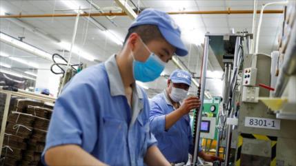 La actividad industrial china, en nuevos máximos desde 2011