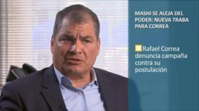 PoliMedios: Mashi se aleja del poder: nueva traba para Correa