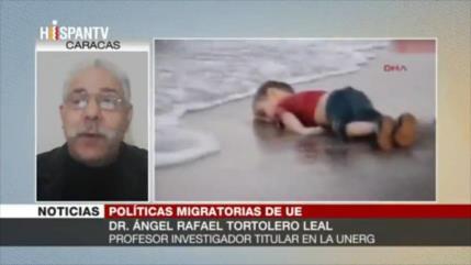 Tortolero: El futuro de niños migrantes en Europa es oscuro