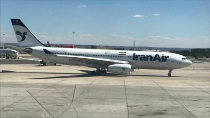 Se reanuda vuelo directo semanal Teherán-Madrid, tras 17 años