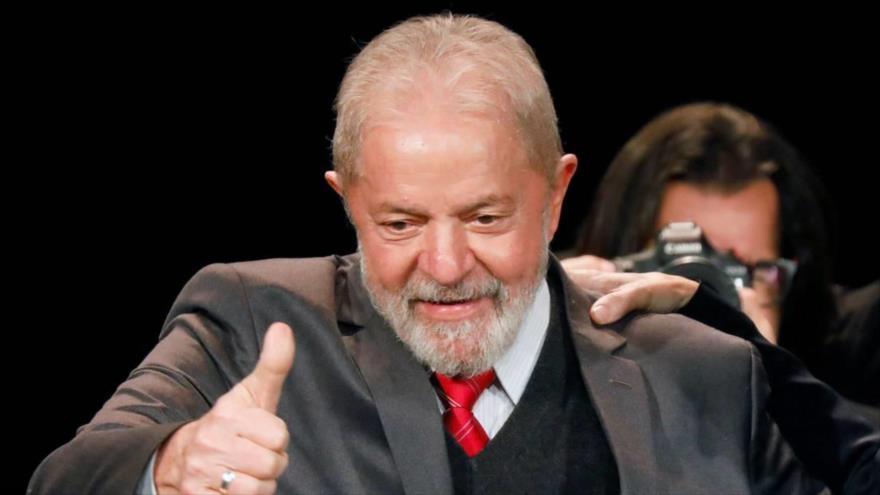 El expresidente brasileño Luiz Inácio Lula da Silva en París, Francia, 2 de marzo de 2020. (Foto: Reuters)