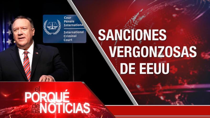 El Porqué de las Noticias: Sanciones vergonzosas de EEUU. Snapback rechazado. Elecciones en Venezuela