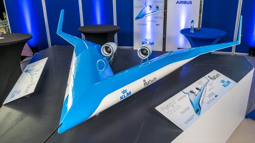 Vídeo: Despega por primera vez el avión del futuro 'Flying-V'