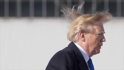 Revelado: Trump canceló un acto por temer a que su pelo se despeine