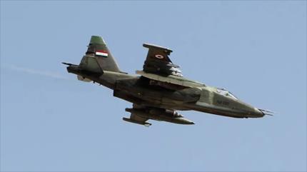 Fuerza Aérea iraquí bombardea y destruye guaridas de Daesh
