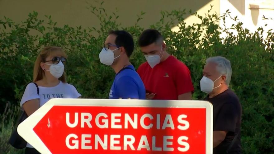 Una segunda ola de contagios por COVID-19 azota Madrid