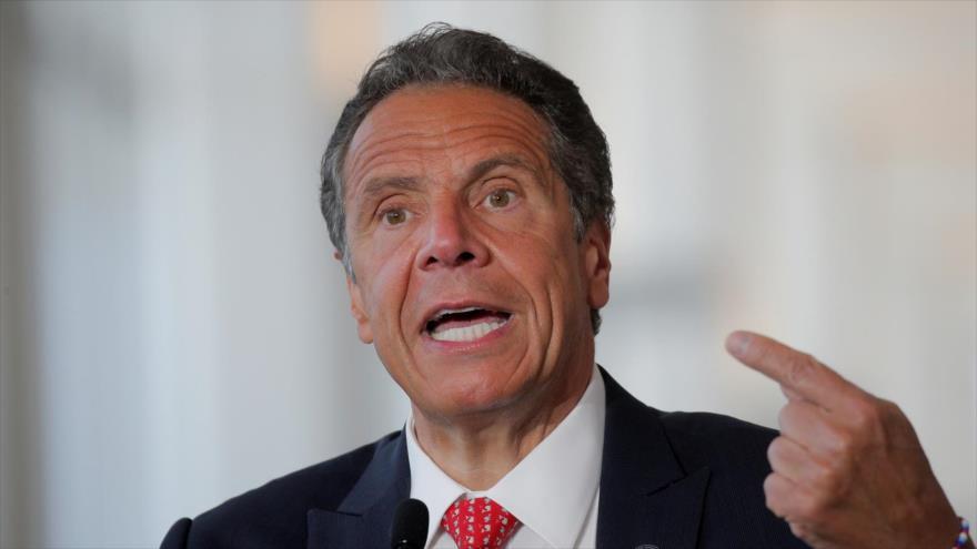 El gobernador de Nueva York (EE.UU.), Andrew Cuomo, ofrece un discurso en la ciudad, 10 de junio de 2020. (Foto: Reuters)