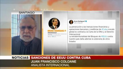 Coloane: EEUU viola derechos humanos con aberrante bloqueo a Cuba