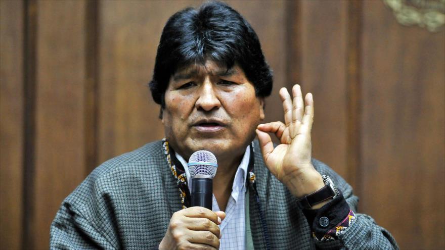 """Morales tacha de """"cortina de humo"""" demandas en su contra ante CPI"""