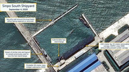 Informe: Corea del Norte planea lanzar un misil desde un submarino