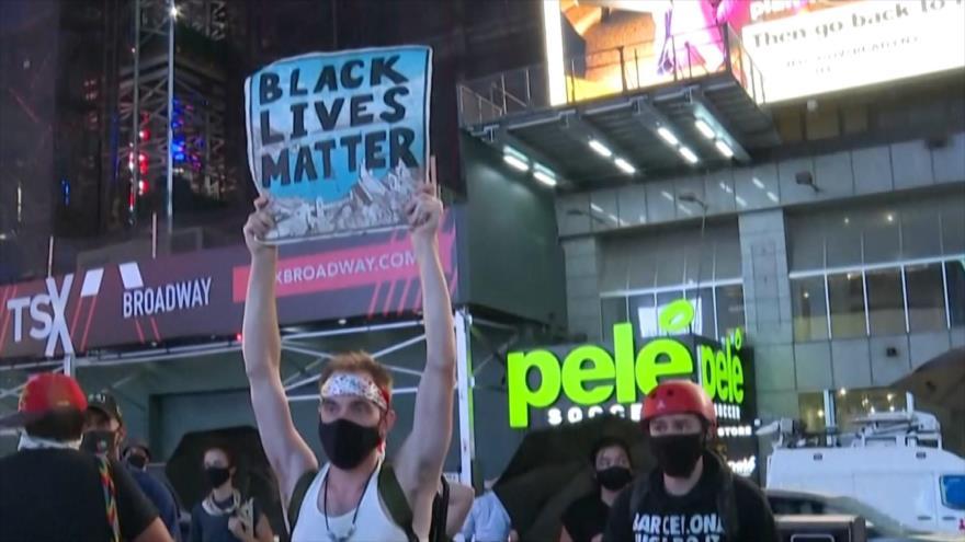 Siguen las protestas contra violencia policial en Estados Unidos