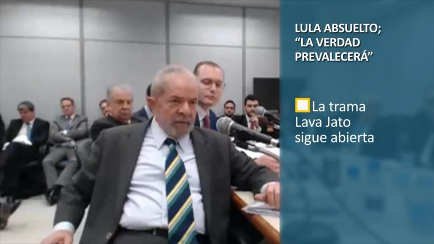 """PoliMedios: Lula absuelto; """"la verdad prevalecerá"""""""