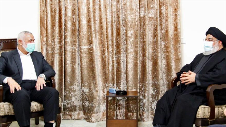 HAMAS y Hezbolá acuerdan fortalecer lazos ante ocupación israelí