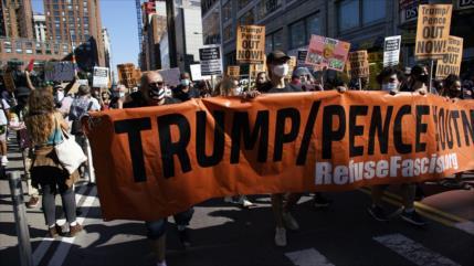 Lanzan 60 días de protesta contra Trump-Pence de cara a comicios