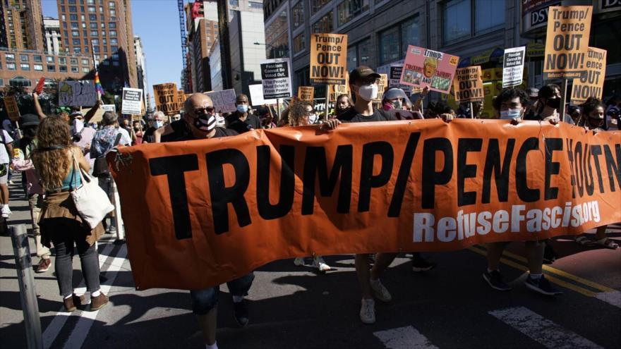 Lanzan 60 días de protesta contra Trump-Pence de cara a comicios | HISPANTV