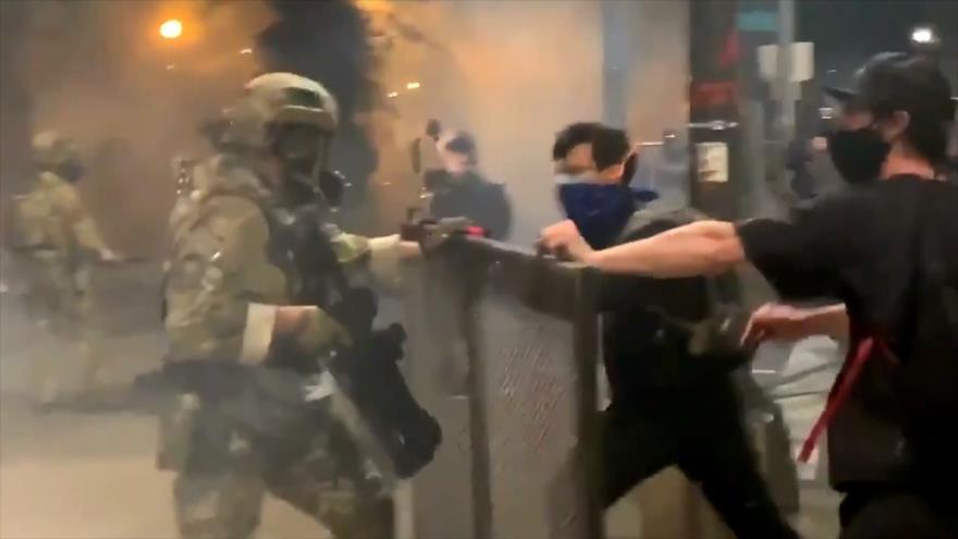 Protestas antirracistas siguen en EEUU pese a represión policial