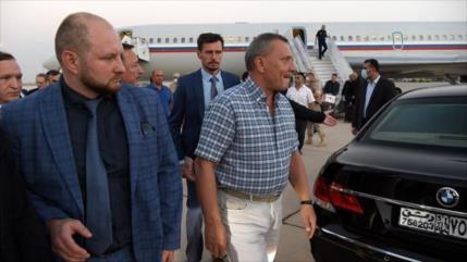 Una delegación rusa llega a Siria para estrechar alianza estratégica
