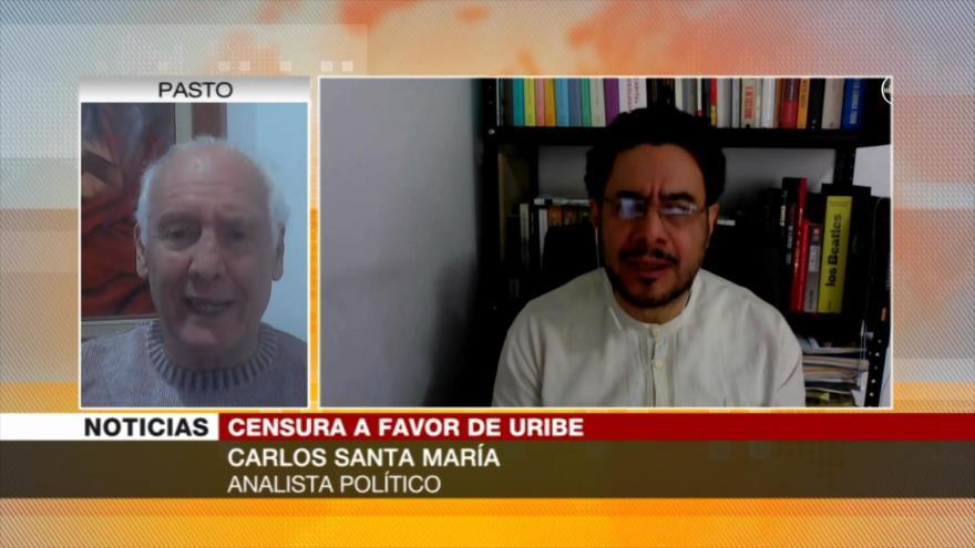 Censura a Cepeda muestra falta de libertad de prensa en Colombia