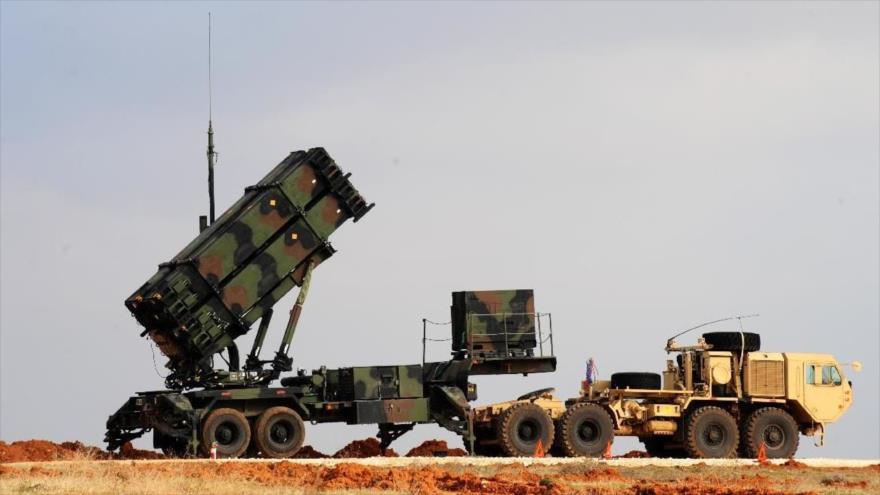 Una batería de los sistemas de defensa antimisiles Patriot, de fabricación estadounidense.
