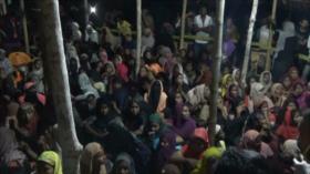 Unos 300 refugiados Rohingya llegan a Indonesia tras meses en el mar