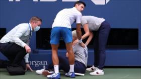 Vídeo: Djokovic, expulsado de US Open tras pelotazo a una jueza
