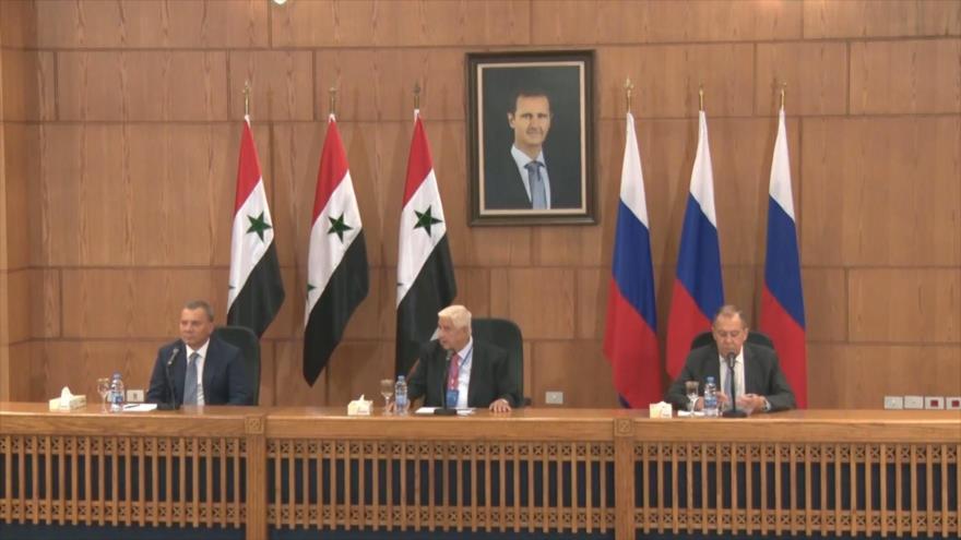 Rusia busca consolidar las relaciones bilaterales con Siria