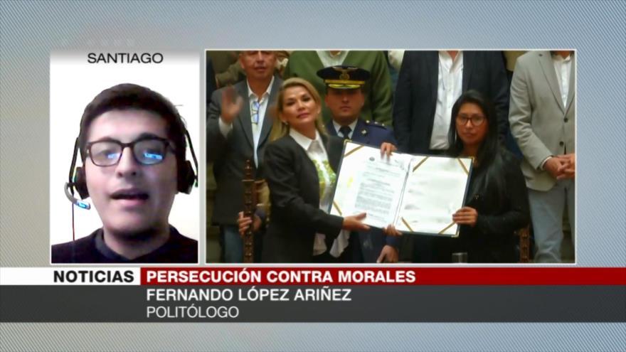 Ariñez: Inhabilitación de Morales entreteje lo jurídico con político