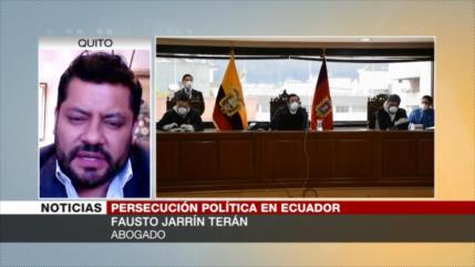 Jarrín: Inhabilitación y condena de Correa es un proceso forjado